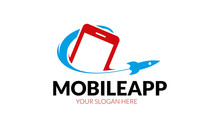 Mobile App Logo Sticker