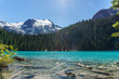 Joffre Lake in British Columbia, Canada at day time.