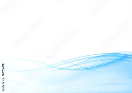 Modern abstract blue soft mild border futuristic background layout