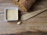 Breadcrumb in a white recipe - 179254827