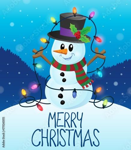 Papiers peints Enfants Merry Christmas subject image 1