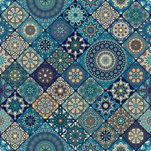 Naadloos patroon. vintage decoratieve elementen. hand getrokken achtergrond. Islam, Arabisch, Indiaas, Ottomaanse motieven. perfect voor afdrukken op stof of papier.
