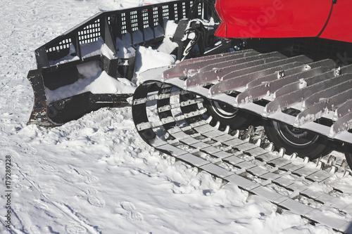 Aluminium Trekker snowcat. ratrak.
