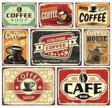 Coffee signs and labels collection - 179294059