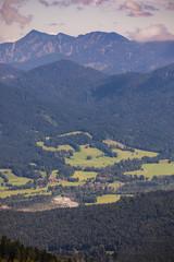 Bavarian Alps Germany mountains panorama