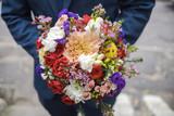 Big wedding bouquet - 179313443