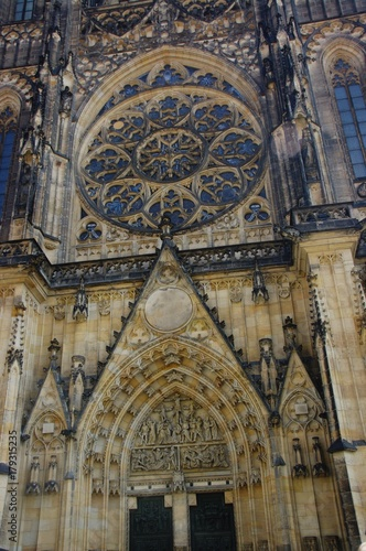Papiers peints Prague Katedra św. Wita w Pradze - rozeta