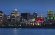 Montreal from across the St. Lawrence River