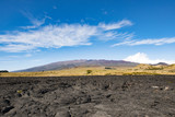Mauna Kea view from the big island of Hawaii Daniel K.Inouye Highway