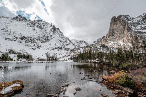 Foto op Plexiglas Natuur Lake Helene, Rocky Mountains, Colorado, USA.
