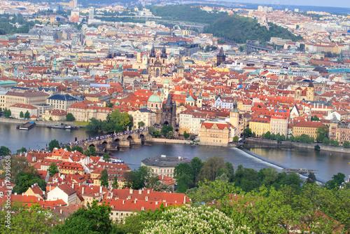 Papiers peints Prague Prague Castle and Saint Vitus Cathedral, Czech Republic. Panoramic view