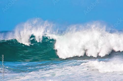 Ocean wave at the atlantic ocean Poster