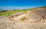 Amphitheater in Hierapolis near Pammukale, Turkey