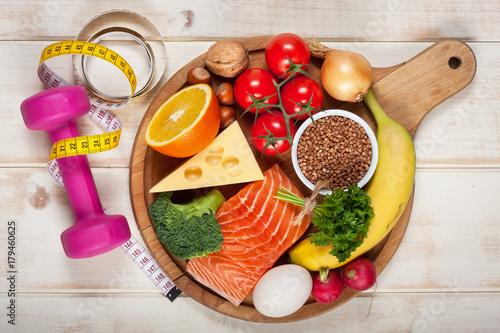 Foto Murales Healthy lifestyle concept