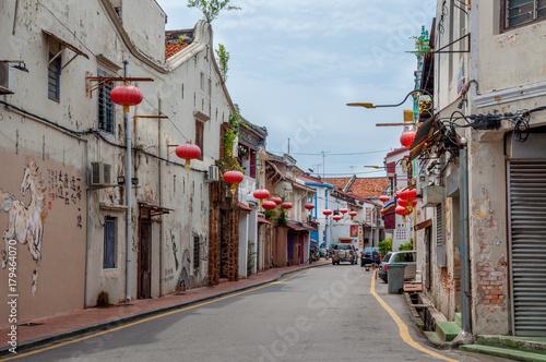 rues peintes de Malacca