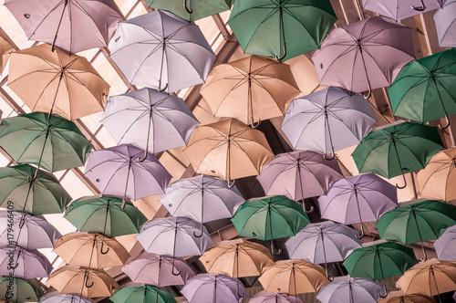 Juliste Fond de parapluies