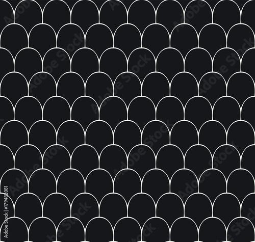 Fototapeta Vintage Art Deco Seamless Pattern. Geometric decorative texture.