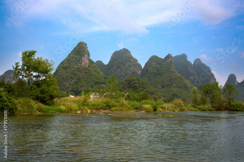 Plexiglas Guilin Li River