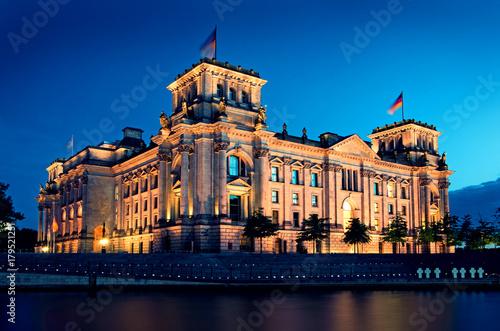 Aluminium Berlijn Berlin Reichstag