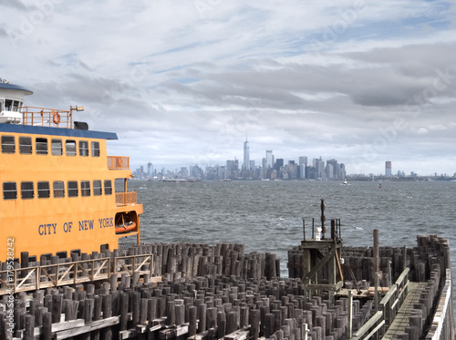 Foto op Canvas New York Traghetto