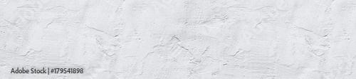 Leinwandbild Motiv  header panorama white textured concrete