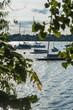 Boats in Minnetonka lake