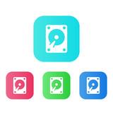 Four Colors - Flat App Icons - 179564677