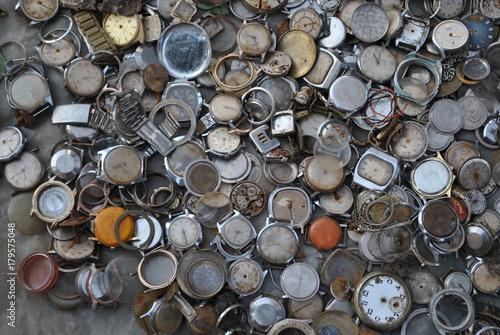 Plagát Kolekcja zegarków