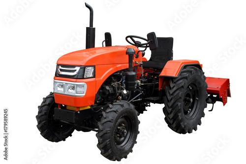 Aluminium Trekker Red compact tractor.