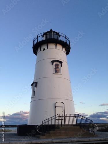 Fotobehang Vuurtoren The Edgartown Lighthouse on Martha's Vineyard, Massachusetts