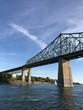 Ponte Jacques Cartier a Montréal, Québec, Canada