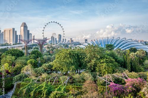 Jardins de Singapour Poster
