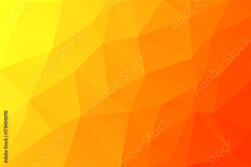 Fototapeta modern geometrical abstract background. Triangular backdrop. Bright wallpaper
