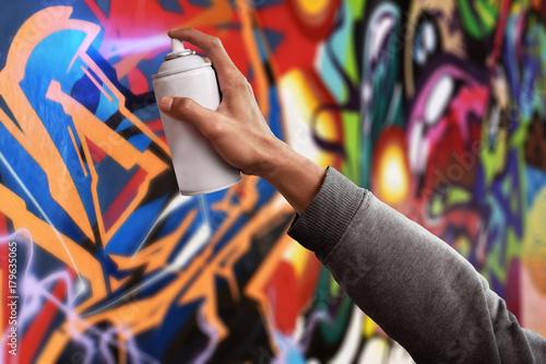 Graffiti artist - 179635065