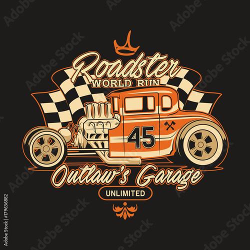 Classic Car Illustration