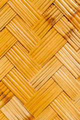 fond bambou tressé
