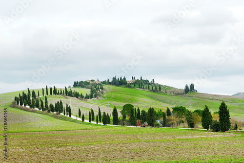 Papiers peints Toscane Panoramic view of the tuscan countryside, Tuscany