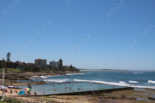 Plexiglas Sydney Ocean Pool and Shelly Beach in Cronulla Sydney, Australia