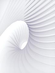 White stripe pattern futuristic background. 3d render illustration © Andrey_A