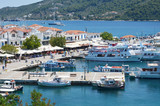 Skiathos Greek Island Port - 179675815
