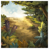paisaje de selva - 179680079