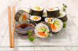 japanese food sushi roll