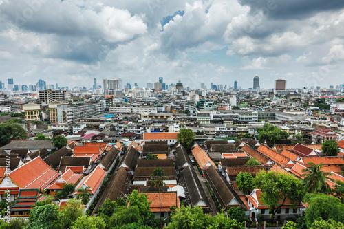 Staande foto Bangkok Aerial view of Bangkok, Thailand