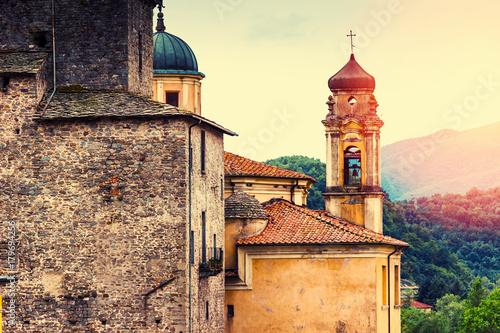 Old Pontremoli village, Liguria, Italy