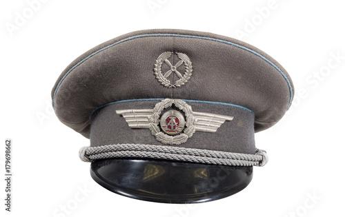 alte originale mütze der ddr armee