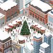 People celebrating Christmas together - 179702664