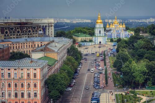Tuinposter Kiev St. Michael's monastery in Kiev. Ukraine