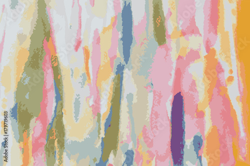 Vector of abstract watercolor on paper. Abstract color background in watercolor style.
