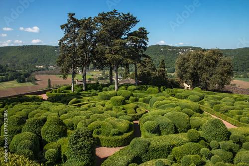 Wall mural Les jardins suspendus de Marqueyssac en Dordogne , France