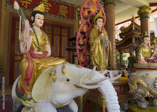 Foto op Plexiglas Bangkok Chinese spiritual figures Bangkok Thailand